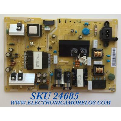 FUENTE PARA TV SAMSUNG / NUMERO DE PARTE BN4400806A / L40S6_FDY / BN44-00806A / PANEL CY-GK043HGEV1H BA01 / MODELO UN43MU630DFXZA / UN434MU630D