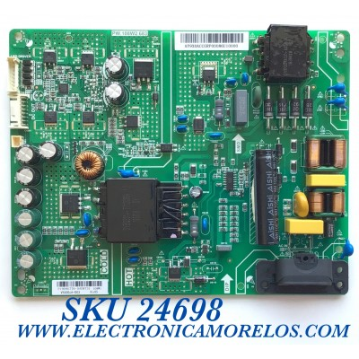 FUENTE DE PODER PARA TV VIZIO / NUMERO DE PARTE P19090776 / PW.180W2.683 / AY9X0ACCGRP / 0A08731 / PANEL V500DJ6-D03 / MODELO V505-H9 / V505-H9