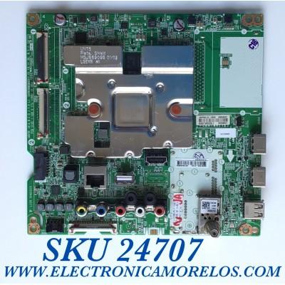 MAIN PARA TV SMART LG 4K UHD CON HDR RESOLUCION (3840 x 2160) / NUMERO DE PARTE EBT66433303 / EAX690803603 / 0BEBT000-01D8 / PANEL NC650DQG-AAHX1 / 65UN7300PUF 0B1L01KV / 65UN7300P