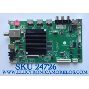 MAIN PARA TV ONN·ROKU TV 4K UHD HDR SMART TV (70) / NUMERO DE PARTE MS16010-ZC01-01 / 2E01413C0 / 515C16010M08 / KB6160A / E503744 / PANEL JE695R3HB9L / MODELO 100012588 / ((NOTA IMPORTANTE:CHECAR QUE EL PANEL Y MODELO CORRESPONDA CON SU TELEVISION))