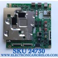 MAIN PARA TV LG SMART 4K UHD CON HDR RESOLUCION (3840 x 2160) NUMERO DE PARTE EBT65176203 / EAX67146203 (1.1) / PANEL LC490DGG (FK)(M7) / MODELOS 49UJ6500-UB / 49UJ6500-UB.BWM4LJR