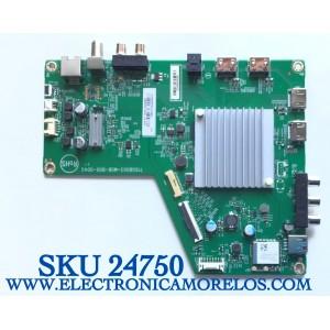 MAIN PARA TV VIZIO SMART 4K UHD CON HDR RESOLUCION (3840 x 2160) NUMERO DE PARTE 756TXKCB02K016 / 715GB003-M0B-B00-004G / (X)XKCB02K016010X / PANEL TPT650UA-QVN07.U / TPT650UA-QVN07.U REV:S900H / MODELO M65Q8-H1 / M65Q8-H1 LTYWZMKW