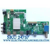 MAIN PARA TV JVC SMART 4K UHD CON HDR RESOLUCION (3840 x 2160) NUMERO DE PARTE 1010143379 / MS34580-ZC01-01 / M44/2010027220/11 / 2010027220D / PANEL LSC490FN02-G01 / MODELO LT-49MA770