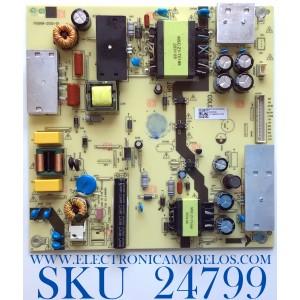 FUENTE PARA TV ONN DE 50'' / NUMERO DE PARTE TV5006-ZC02-02 / 1010446903 / TV5006-ZC02-02 / E168066 / E021M460-B2 / M33/2010072052/09 / 20200929 / 1010446903-02129 / PANEL CC500PV3D / MODELO 100012585
