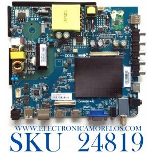MAIN FUENTE PARA TV WESTINGHOUSE NUMERO DE PARTE 103100080 / CV6486H-A42 / 7.D6486HA42110.3A7 / 95H04651906FA0578 / B83D4E16995A / PANEL T400-V35-DLED / MODELO WD40FE2210
