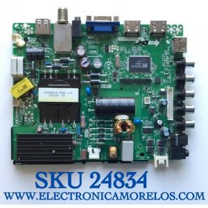 MAIN FUENTE PARA TV ELEMENT NUMERO DE PARTE  34013942 / TP.MS3393.PB851 / E157925 / H15071393-0P01688 / PANEL T500HVN07.4 / MODELO ELEFW505