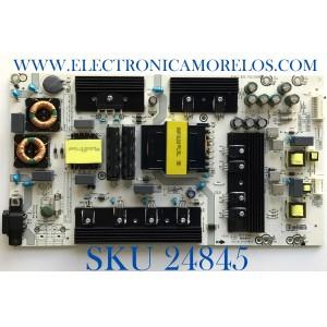 FUENTE DE PODER PARA TV HISENSE / NUMERO DE PARTE 249443 / RSAG7.820.7911/ROH / HLL-5465WC / DMD195M11J0 / CQC16134139053 / PANEL HD650S1U71-K1/S0/GM/ROH / MODELO 65R6E1