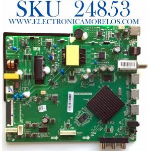 MAIN FUENTE PARA TV ONN DE 32'' / NUMERO DE PARTE 515Y16031M27 / TPD.MS1603.PB751 / 2010074328 / 536D3156CH1H / SW:AS9.2.0E1301X / J0190822C3A229077 / B20096757-0A01486 / PANEL V320BJ8-Q01 / MODELO 100012589
