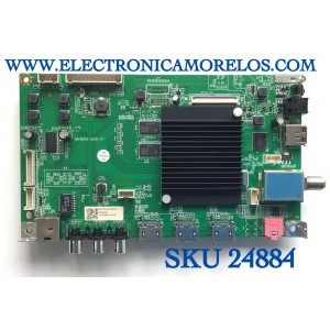 MAIN PARA TV JVC·ROKU TV 4K UHD SMART TV / NUMERO DE PARTE MST16010-ZC01-01 / 1010443407 / 2010072820 / 20200922 / 2E01413C0 / PANEL JE695R3HB9L / MODELO LT-70MAW795 / ((NOTA IMPORTANTE:CHECAR QUE EL PANEL Y MODELO CORRESPONDA CON SU TELEVISION))