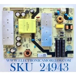 FUENTE DE PODER PARA TV ONN·ROKU TV 4K SMART TV / NUMERO DE PARTE TV3903-ZC02-01 / E021M487-A2 / E021M413-F1 / E168066 / PANEL LC430EGQ / MODELOS 100012584 / LT-43MAW605 / ((NOTA IMPORTANTE:CHECAR QUE EL PANEL Y MODELO CORRESPONDA CON SU TELEVISION))