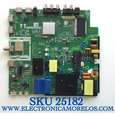 MAIN FUENTE PARA TV RCA NUMERO DE PARTE AE0011990 / TP.MS3458.PC757 / Z20071705-0A01614 / MODELO RLDED5098-B-UHD