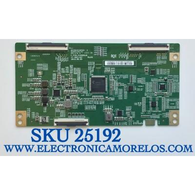 T-CON PARA TV PHILIPS / NUMERO DE PARTE 44-97716800 / C-PBC_HV650QUB / 47-6021287 / HV650QUBV9F / 44-9771680O / B03A04EE0058A / PANEL HV650QUB-N9E / MODELO 65PFL5604/F7  A