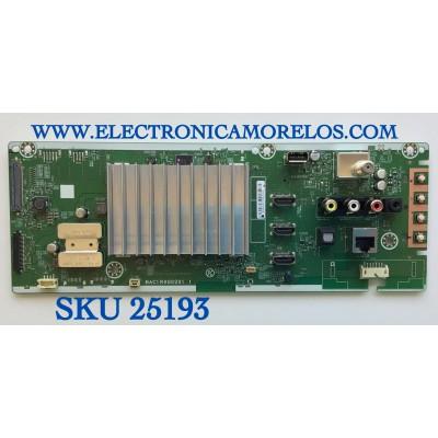 MAIN SMART PARA TV PHILIPS 4K UHD CON HRD10 ANDROID RESOLUCION (3840 × 2160) NUMERO DE PARTE ABG8JUA-65UB / BAC1R0G0201  1 / BG8JD0F025801333 / PANEL HV650QUB-N9E / MODELO 65PFL5604/F7  A