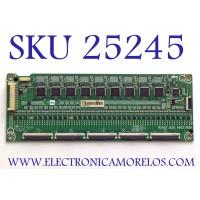 LED DRIVER PARA TV HISENSE NUMERO DE PARTE 260306 / RSAG7.820.9602/ROH / FZ2054G274 / B003 / PANEL HD550X6U51/S0/FJ/GM/ROH / MODELO 55H9G