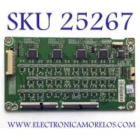 LED DRIVER PARA TV HISENSE NUMERO DE PARTE 244046 / RSAG7.820.87547ROH / B003 / TG193411M4 / 244047 / PANEL HD550V3U5I-TAL3SQ/EJ/GM/ROH / MODELO 55A6501EU