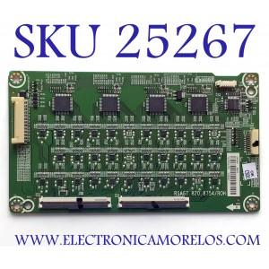 LED DRIVER PARA TV HISENSE 4K ANDROID SMART TV / NUMERO DE PARTE 244046 / RSAG7.820.87547ROH / 244047 / E303981 / PANEL HD550V3U51-TAL3\S0\FJ\GM\ROH / MODELO 55H8F 55A6501EU