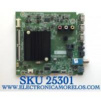 MAIN PARA TV HISENSE NUMERO DE PARTE 282063 / RSAG7.820.9866/ROH / 3TE65G2032BT / ZTP20A8F0KG / HU65A6109FUWV / 265022  / EK0904 / PANEL HD650X1U81-T0L1/SO/GM/ROH / MODELO 65A60GMV