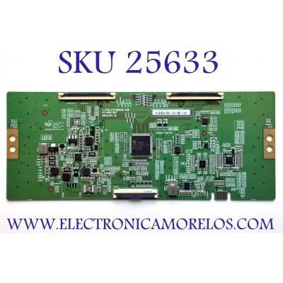 T-CON PARA TV VIZIO NUMERO DE PARTE 44-9771784O / C-PCB_HV750QUB-V90 / 47-6021327 / HV750QUBN9D / KO6A11B6273 / PANEL BOEI750WQ1 / MODELO V755-J04 LBNFE5KX