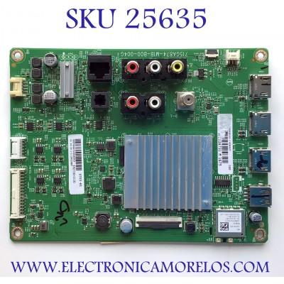 MAIN PARA TV VIZIO NUMERO DE PARTE 905TXKSA70000400CX / 715GA874-M1B-B00-004G / 87617243-02130 / XKCB02K053010X / KQ3KAJC / PANEL TPT700U2-PV3D.Q REV:S01K / MODELO V705-H1 LTCDZJMX