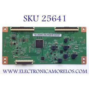 T-CON PARA TV VIZIO 4K HDR UHD SMART TV / NUMERO DE PARTE STCON695G / CCPD-TC695-002 / CCPD-TC695-002 V1.0 / STCON695G-008 / STCON695G008 / PANEL TPT700U2-PV3D.Q REV:S01K / MODELOS V705-H1 / V705-H1 LTCDZJ / V705-H1 LMXDZJ