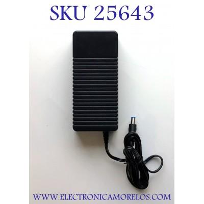 ADAPTADOR ROHS NUMERO DE PARTE 25-2303 / EPS-4 / 15 V. 4.3 A / INPUT:100-120V ~ 1.7A 60HZ / E467093 / MODELO CYUS65-150430B