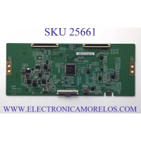 T-CON PARA TV VIZIO NUMERO DE PARTE 44-9771784B / C-PCB_HV750QUB-V90 / 47-6021327 / HV750QUBN9D / KT1A11R3656 / PANEL  BOEI750WQ1 / MODELO V755-J04 LBNFE5KX