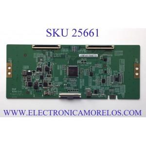 T-CON PARA TV VIZIO 4K UHD SMART TV / NUMERO DE PARTE 44-9771784B / 47-6021327 / C-PCB_HV750QUB-V90 / HV750QUBN9D / PANEL BOEI750WQ1 / MODELOS V755-H4 / V755-H4 LBNFB4 / V755-H4 LBNFB4KX / V755-H4 LBNFB4KW / V755-J04 / V755-J04 LBNFE5 / V755-J04 LBNFE5KX