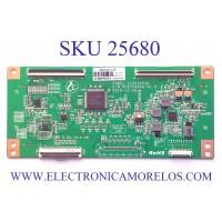 T-CON PARA TV RCA 4K ULTRA HD / NUMERO DE PARTE PD6754A5A-V1.0 / CC500PV1D / CC500PV5D.4K / AE0141116 / 2008PDAY2001 / 2008222460 / PANEL CC500PV5D / MODELO RLDED5098-B-UHD