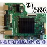 MAIN PARA TV ONN·ROKU TV 4K UHD CON HDR RESOLUCION (3840 × 2160) SMART TV / NUMERO DE PARTE T.MS1801.81 / CH_C.RK.M1801-UC / A20085330 / 850269363N20080-CH / DCBD7A89FD2D / PANEL C500Y19-5C / MODELO 100012585
