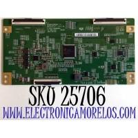 T-CON PARA TV PHILIPS ANDROID 4K UHD CON HDR RESOLUCION (3840 x 2160) SMART TV / NUMERO DE PARTE 44-97717970 / 47-6021287 / C-PCB_HV650QUB / HV750QUBF9D / 44-9771797O / PANEL BOEI750WQ1-F9D / MODELO 75PFL5604/F7 / 75PFL5604/F7 A