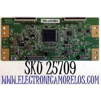 T-CON SCEPTRE  4K UHD TV / NUMERO DE PARTE 44-9771311B / 47-6021148 / HV550QUB-H11 / 20170426 / HV550QUBH11 / E361035 / B082004AA0022-04 / PANEL CN55XB621 / MODELO W55 / U550CV-UMR