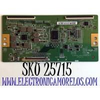 T-CON PARA TV PHILIPS 4K ULTRA HD ANDROID SMART TV / NUMERO DE PARTE 44-9771667A / 47_6021397 / HV750QUBN9K / 47_6021397_CPCB_HV750QUB_R0.0 / L422049A_23 / E54926 / PANEL BOEI750WQ1-N9K / MODELO 75PFL5604/F7 / 75PFL5604/F7 A