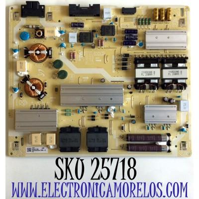 FUENTE DE PODER PARA TV SAMSUNG QLED 4K UHD QUANTUM HDR SMART TV / NUMERO DE PARTE BN44-01106A / BN4401106A / L65E8N_AHS / E301536 / MODELO QN65Q70 / QN65Q70AAFXZA