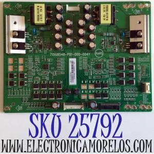 LED DRIVER PARA TV VIZIO 4K UHD HDR SMART TV / NUMERO DE PARTE LNTVGT38ZXAH1 / 715G8548-P01-000-004Y / GT38ZXAH1 / E342828 / PANEL S750QF57 V0 / MODELOS V755-J04 / V755-J04 LBNFE5 / V755-J04 LBNFE5KX / M75-E1 / M75-E1 LTMAEM / M75-E1 LTMAEMMU