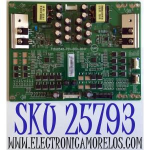 LED DRIVER PARA TV VIZIO 4K UHD HDR SMART TV / NUMERO DE PARTE LNTVGT38ZXAG8 / 715G8548-P01-000-004Y / GT38ZXAG8 / E342828 / PANEL S750QF57 V0 / MODELOS V755-J04 / V755-J04 LBNFE5 / V755-J04 LBNFE5KX / M75-E1 / M75-E1 LTMAEM / M75-E1 LTMAEMMU