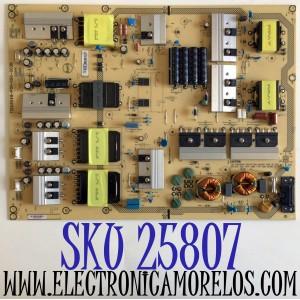 FUENTE DE PODER PARA TV VIZIO 4K UHD HDR SMART TV / NUMERO DE PARTE ADTVG1950AB2 / 715G8549-P01-000-003H / (X)ADTVG1950AB2 / VG1950AB2 / PANEL S750QF57 V0 / MODELOS V755-J04 / V755-J04 LBNFE5 / V755-J04 LBNFE5KX / M75-E1 / M75-E1 LTMAEM / M75-E1 LTMAEMMU