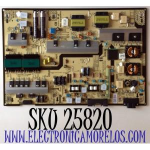 FUENTE DE PODER PARA TV SAMSUNG QLED 4K ULTRA HD SMART TV / NUMERO DE PARTE BN44-01103A / BN4401103A / L75E7N_ADY / PANEL CY-QA075HGEV1H / MODELO QN75Q6 / QN75Q6DAAFXZA / QN75Q6DAAFXZA BA02