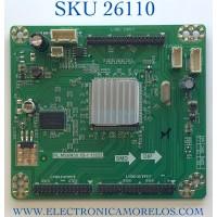 LED DRIVER PARA TV RCA NUMERO DE PARTE A13092943 / PL.MS6M30.1D-1 13222 / RE3342B060-A1 / PANEL T550HN02.1 / MODELO LED55C55R120Q