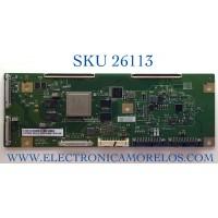T-CON PARA TV SONY NUMERO DE PARTE 6682A / 6870C-0887B / LE770AQP (AP)(A1) / PANEL LE770AQP (AP)(A1) / MODELO XR-77A80J / XR77A80J