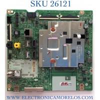 MAIN PARA TV LG NUMERO DE PARTE EBT66768701 / EAX69109605 / PANEL NC750DQH-ABHR1 / MODELO 75UN9070AUD.BUSFLKR / 75UN9070AUD