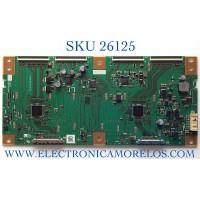 T-CON PARA TV SONY NUMERO DE PARTE RUNTK5556TP / 1P-0142J00-4010 / PANEL YD4Y700LNX01 / MODELOS M70-C3 / P602UI-B3 / P702UI-B3 / M60-C3 / XBR-70X850B / XBR70X850B((CHECAR CONECTOR))