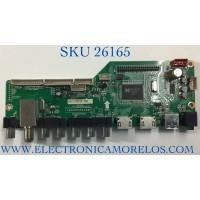 MAIN PARA TV RCA NUMERO DE PARTEMK-RE01-140527 / LD.M3393.B / 55120RE01M3393LNA35-C2 / PANEL T550HVD02 / MODELO LED55C55R120Q