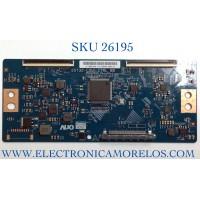 T-CON ((CHECAR EL CONECTOR DEL LVDS )) PARA TV INSIGNIA NUMERO DE PARTE 55.55T32.C28 / 55T32-C0L CTRL BD / 5555T32C28 / PANEL TPT550U1-QVN05.U REV:S57B1BC / MODELO NS-55F301NA22
