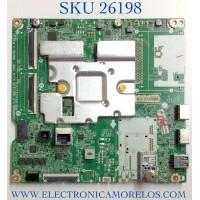 MAIN PARA TV LG NUMERO DE PARTE EBR33181102 / EAX69532504 / 1CER010-000H / RU13V3APVY / PANEL LVU650BEDXE0008 / MODELO 65UP7000PUA