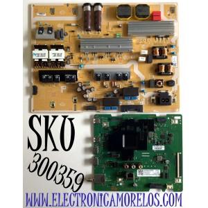 KIT DE TARJETAS PARA TV SAMSUNG 4K SMART TV / NUMERO DE PARTE MAIN BN94-15731A / BN41-02756C / FUENTE BN44-01060A / BN4401060A / L75E7N_TSM / PANEL CY-RT075HGHV2H / MODELO QN75Q60 / QN75Q60TAFXZA CB01