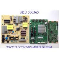 KIT DE TARJETAS PARA TV VIZIO 4K HDR SMART TV / NUMERO DE PARTE MAIN GXKCB02K025 / 715GA874-M0C-B00-004G / FUENTE ADTVJ1812ABH / 715G9165-P01-002-003M / T-CON CV580U1-T01-CB-1 / PANEL TPT580B5-U1T01.D / MODELOS V585-H11 LTCHZILW / V585-H11 LTCHZINW