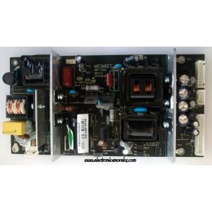 FUENTE DE PODER SCEPTRE / APEX / SEIKI /  MP116A / MP116A / PARTES SUSTITUTAS MP116A1/ PANEL LTA320AB02 / MODELOS X320BV-HD / X322BV-HD / X325BV-FHD / X32 / LD3288T / LC-32B56 / SC323FI