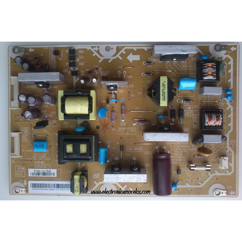 Fuente De Poder    Panasonic Pk101v2930i    4h B1790 001  C