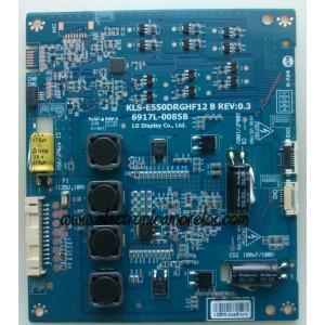 DRIVER LED / PANASONIC 6917L-0085B / KLS-E550DRGHF12B / MODELOTC-55LE54