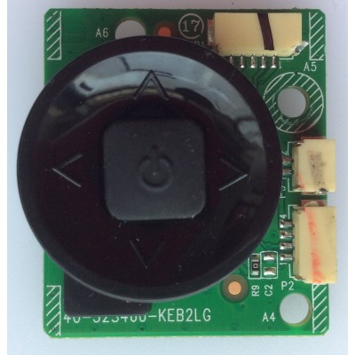 BOTONERA / TCL 40-32S460-KEB2LG / LVF480ND2L / MODELO 48FS4610R